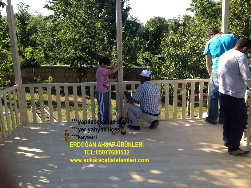 erdoğan ahşap ürünleri 4x4 ahşap kamelya yer yahyalı  ilçesi kayseri (8)