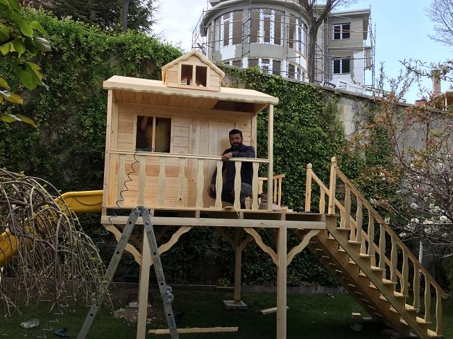 Erdoğan Ahşap Ürünleri Çocuk Oyun Evi (10)